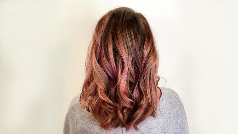 capelli rose gold